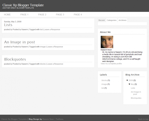 classic-xp-blogger-template
