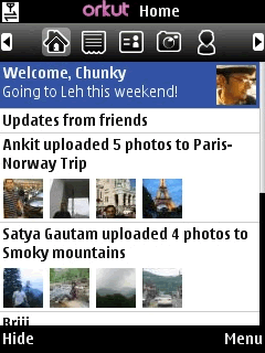 Orkut Mobile App