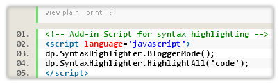 syntax-highlighter-blogger