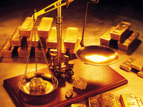 Gold_bullion_on_the_scales