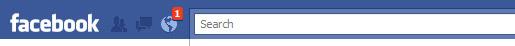 Facebook Redesign - Notifications