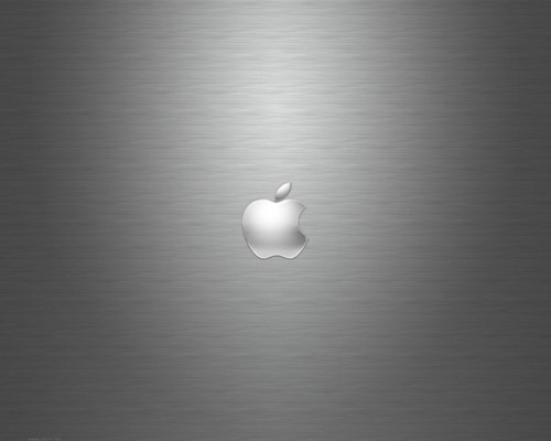 Apple Metal Plate