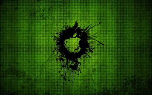 Crazy Grunge Apple Background