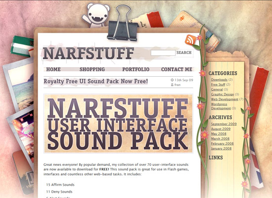 Narf Stuff