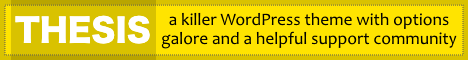 Thesis - Best SEO Optimized WordPress Theme
