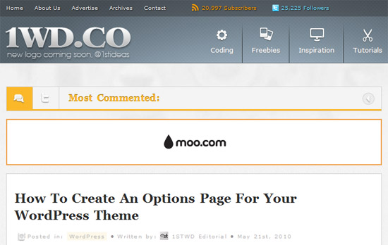 How To Create An Options Page For Your WordPress Theme
