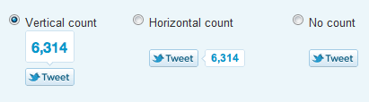 Official Twitter Tweet Button