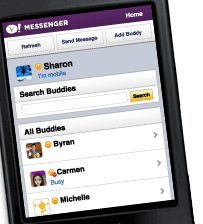 Yahoo Mobile Messenger