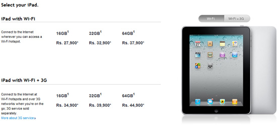Buy Apple iPad India Officially