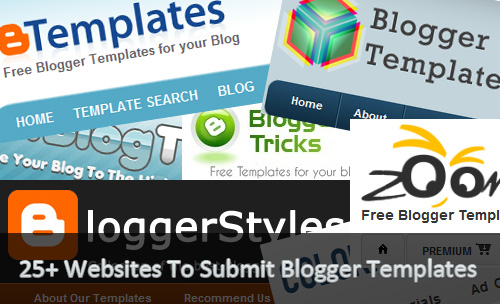 Submit Blogger Templates