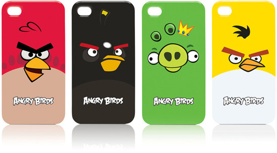 Angry Birds Cases for iPhone 4 and iPod Touch 4