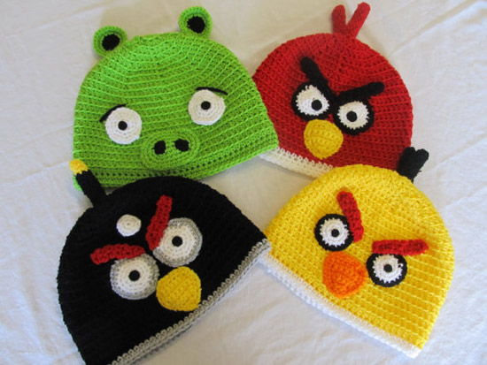 Angry Birds Hat Pack