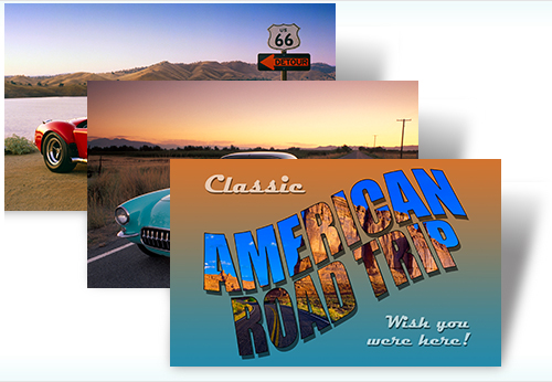 Classic American Road Trip Windows 7 Theme