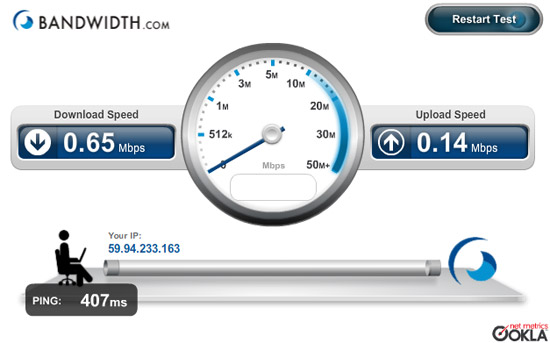 7 best free software to test internet speed.