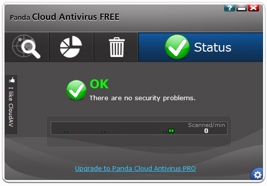 Panda Cloud Antivirus 1.5