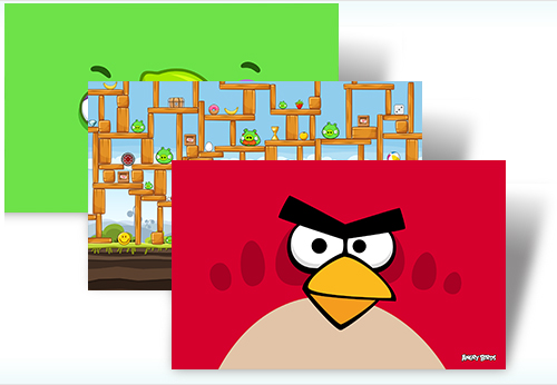 Angry Birds Windows 7 Theme
