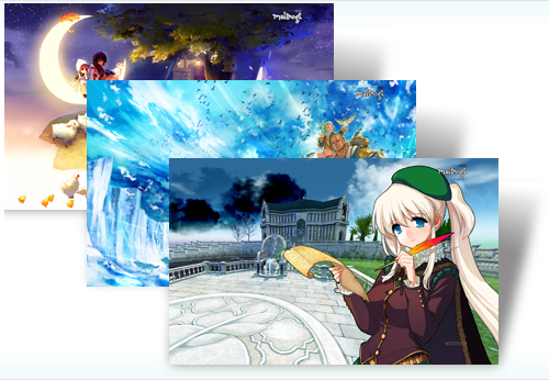 Mabinogi Windows 7 theme