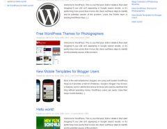 WP Plus - Google+ WordPress Theme