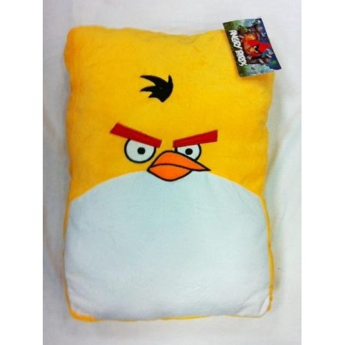 Yellow Angry Bird Plush Pillow