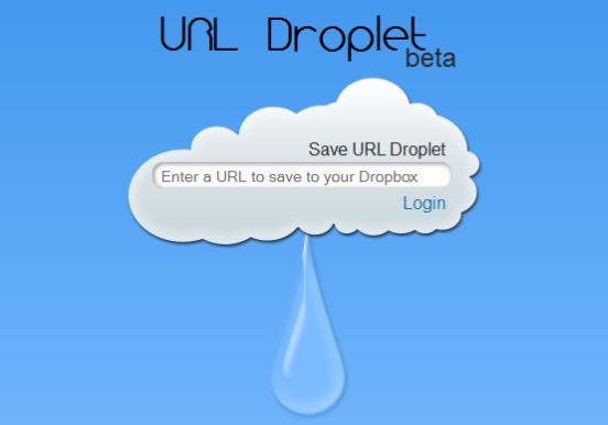 URL Droplet