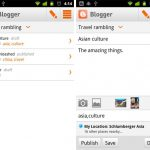 Blogger Android App