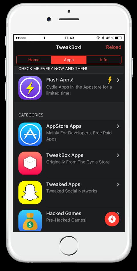 tweakbox not downloading apps