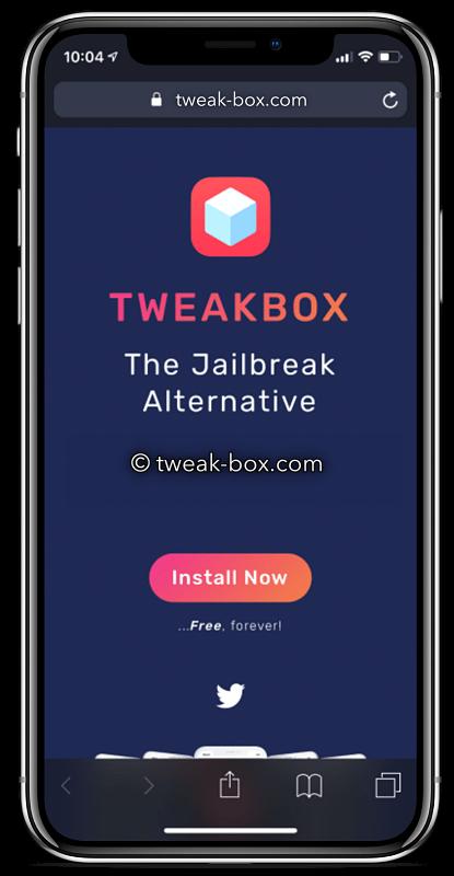 iphone x tweakbox app